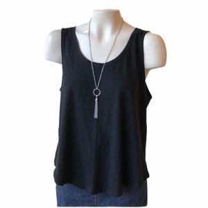 A New Day tank top black